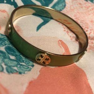 Jewelry - NWOT Green Enamel Bangle